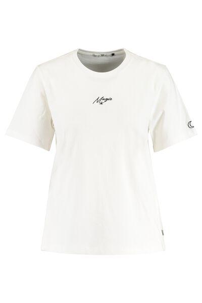 T-shirt met tekstborduring