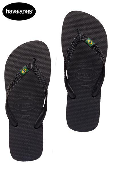 Havaianas Brasil logo slippers