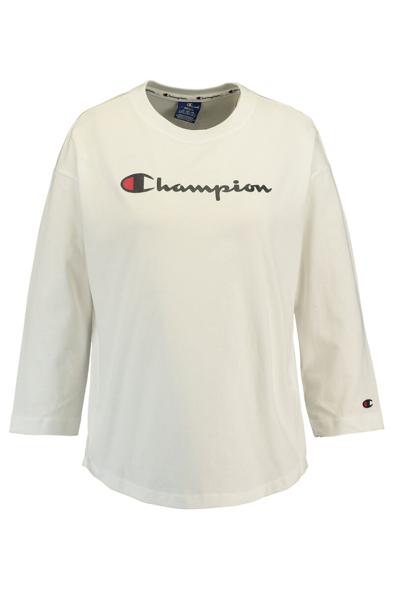 dac8699c Women Long sleeve Champion American logo White Buy Online