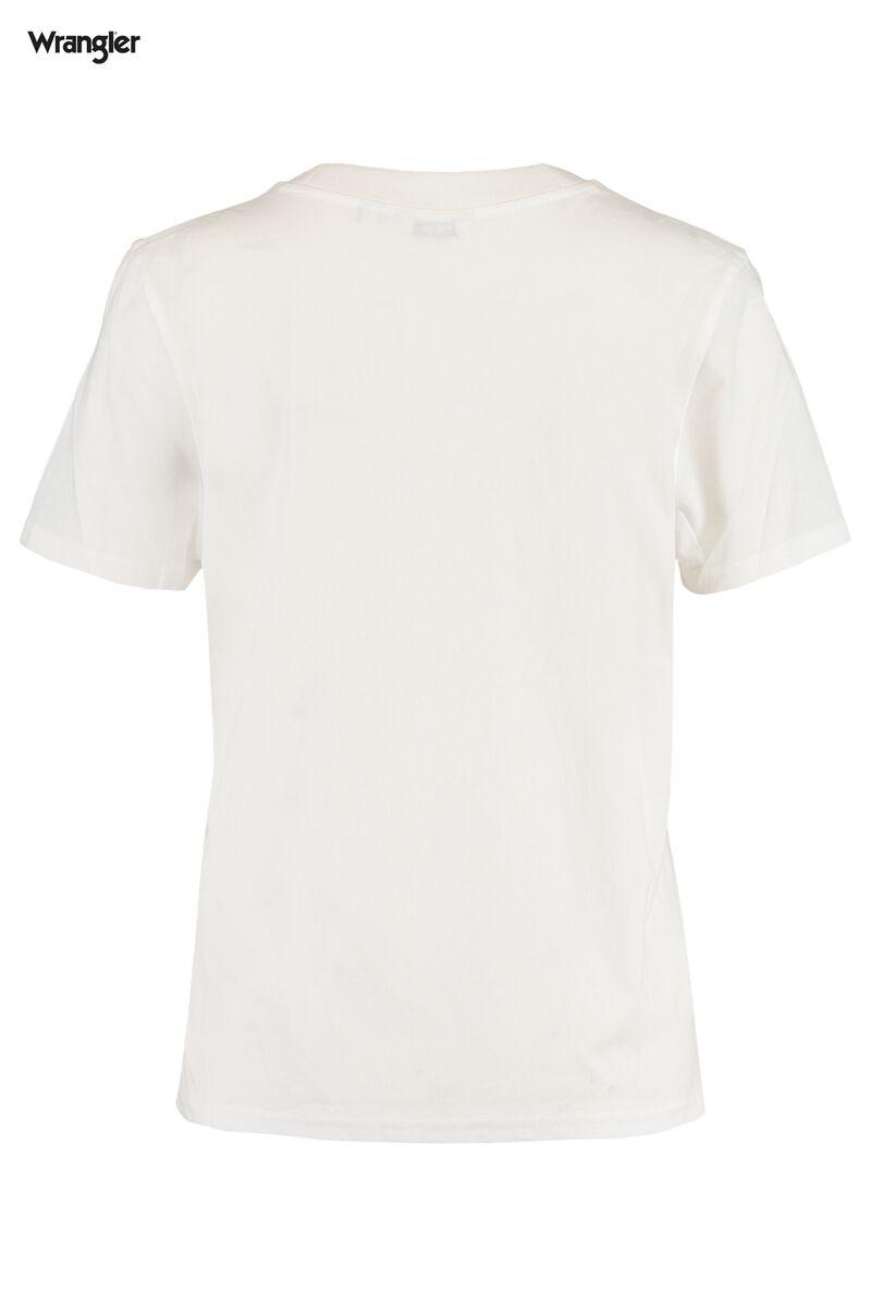 T-shirt High rib regular tee