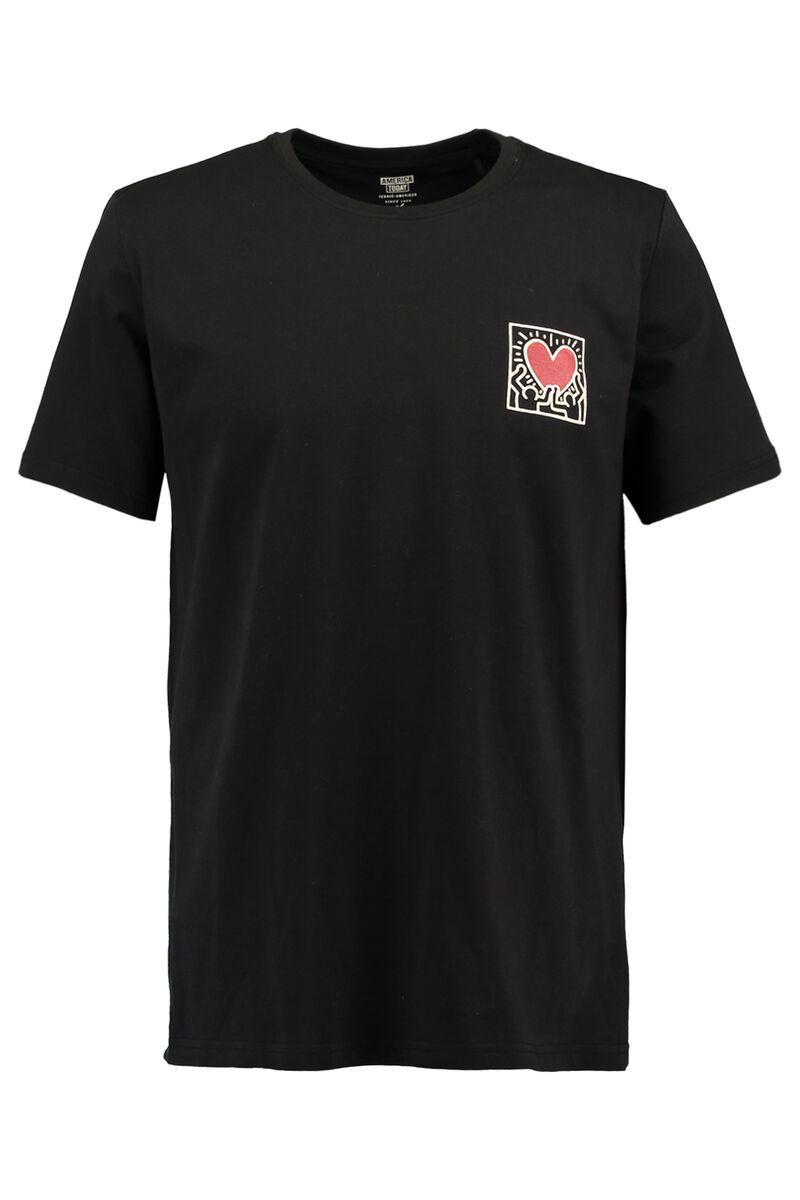 db2fdbc4 Men T-shirt Keith Haring Esai Black Buy Online