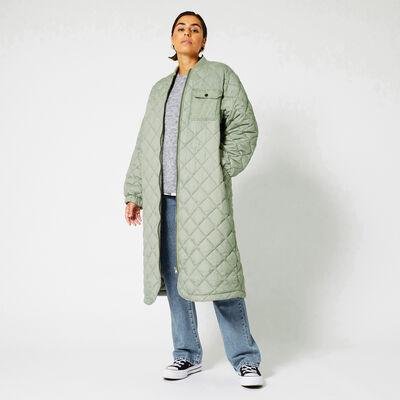 Jacke lang gepolstert