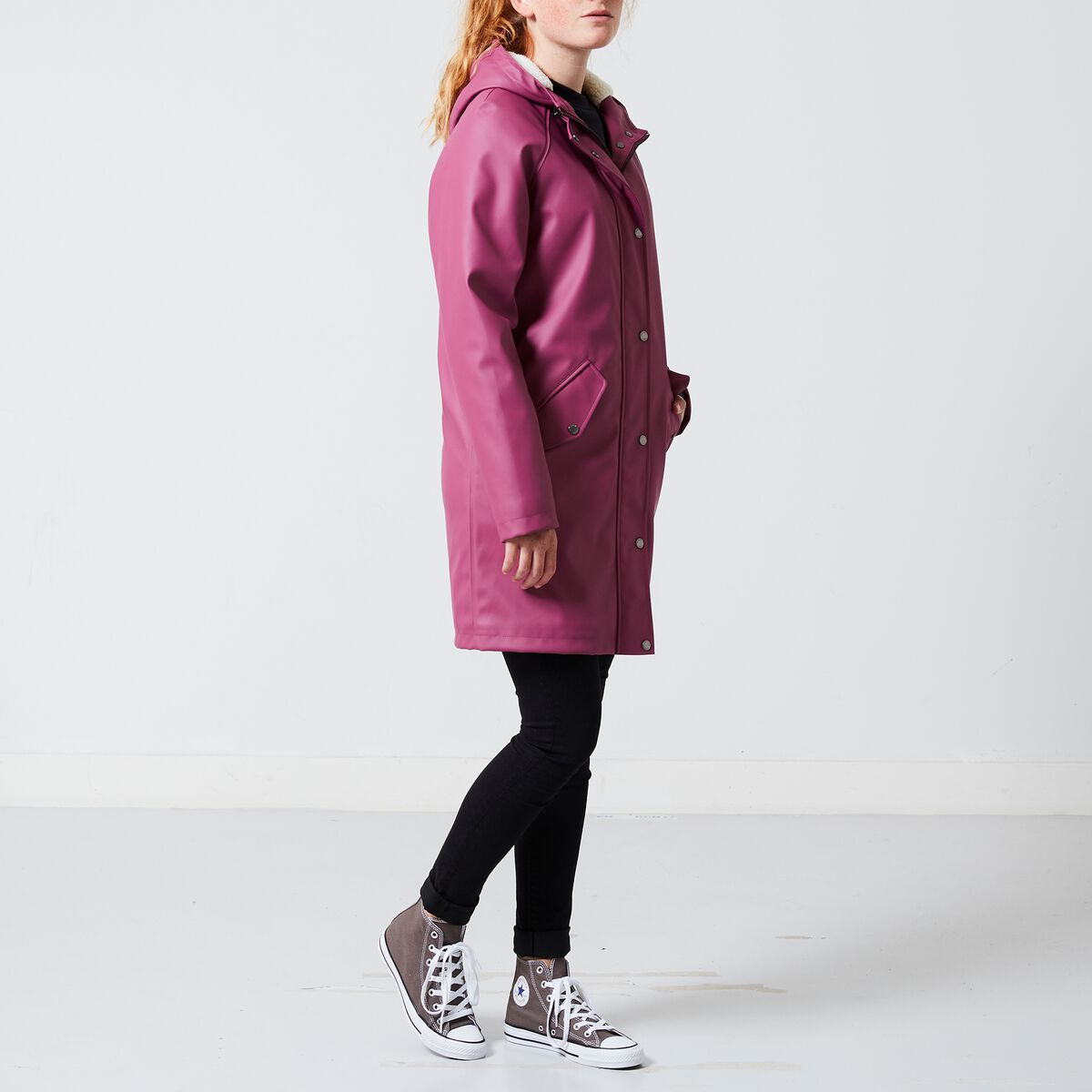 Neu werden schöne Schuhe am besten bewertet neuesten Damen Regenmantel Janet Teddy Rosa Online Kaufen