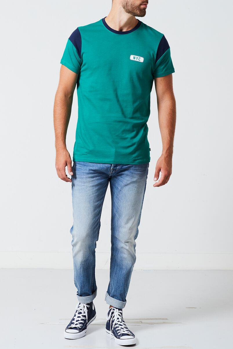 T-shirt Edward block