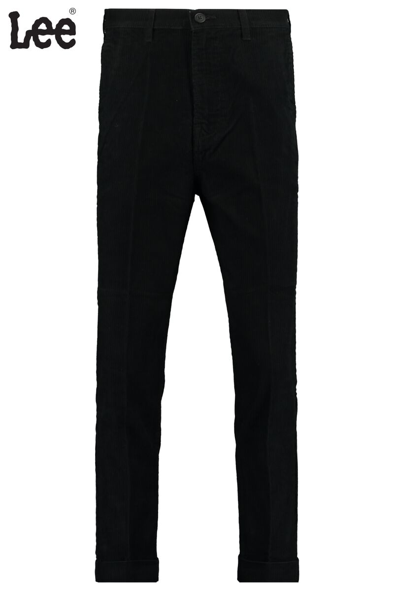 Trousers Tapered Chino black
