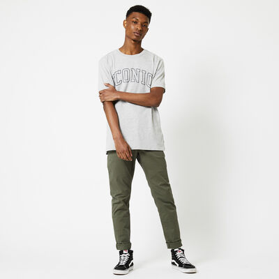 Trousers with narrow legs
