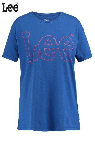 T-shirt Lee outline logo