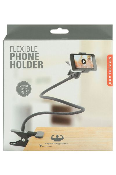 Flexible phoneholder
