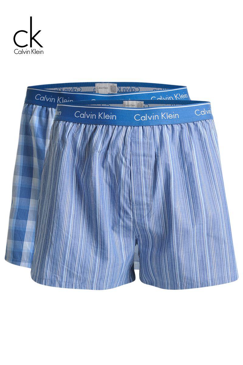 3634a3c13e Men Boxershort Calvin Klein 2-pack Blue Buy Online