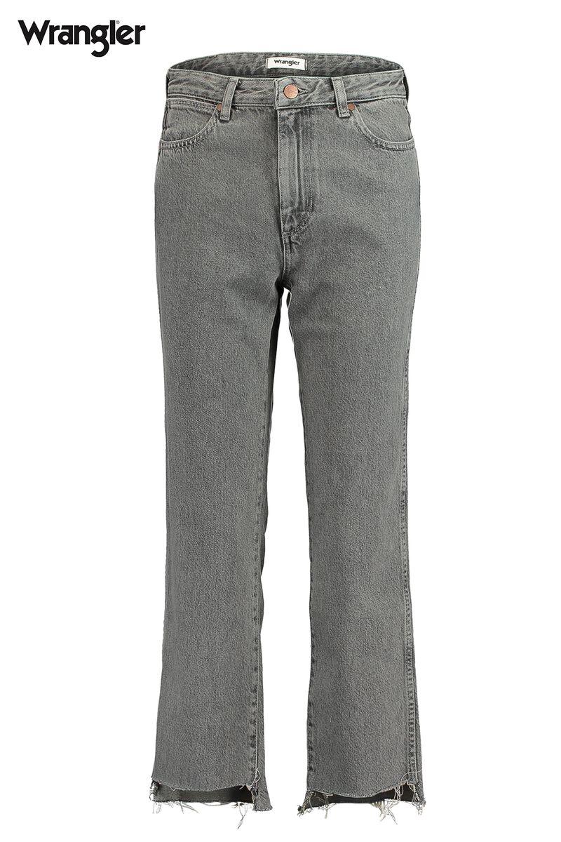 ef8437653b2 Women Jeans Wrangler Retro Straight Grey Buy Online