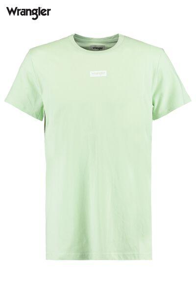 T-shirt Wrangler logo