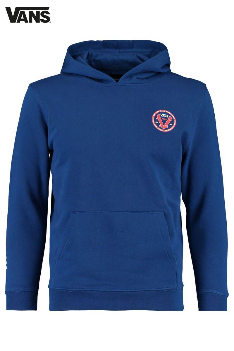 Hoodie Sodalite blue hoodie