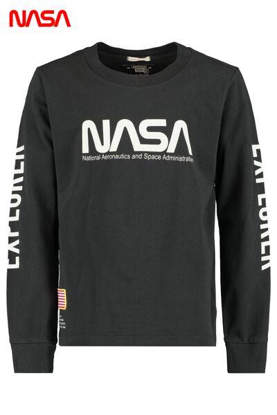 NASA Longsleeve mit Print