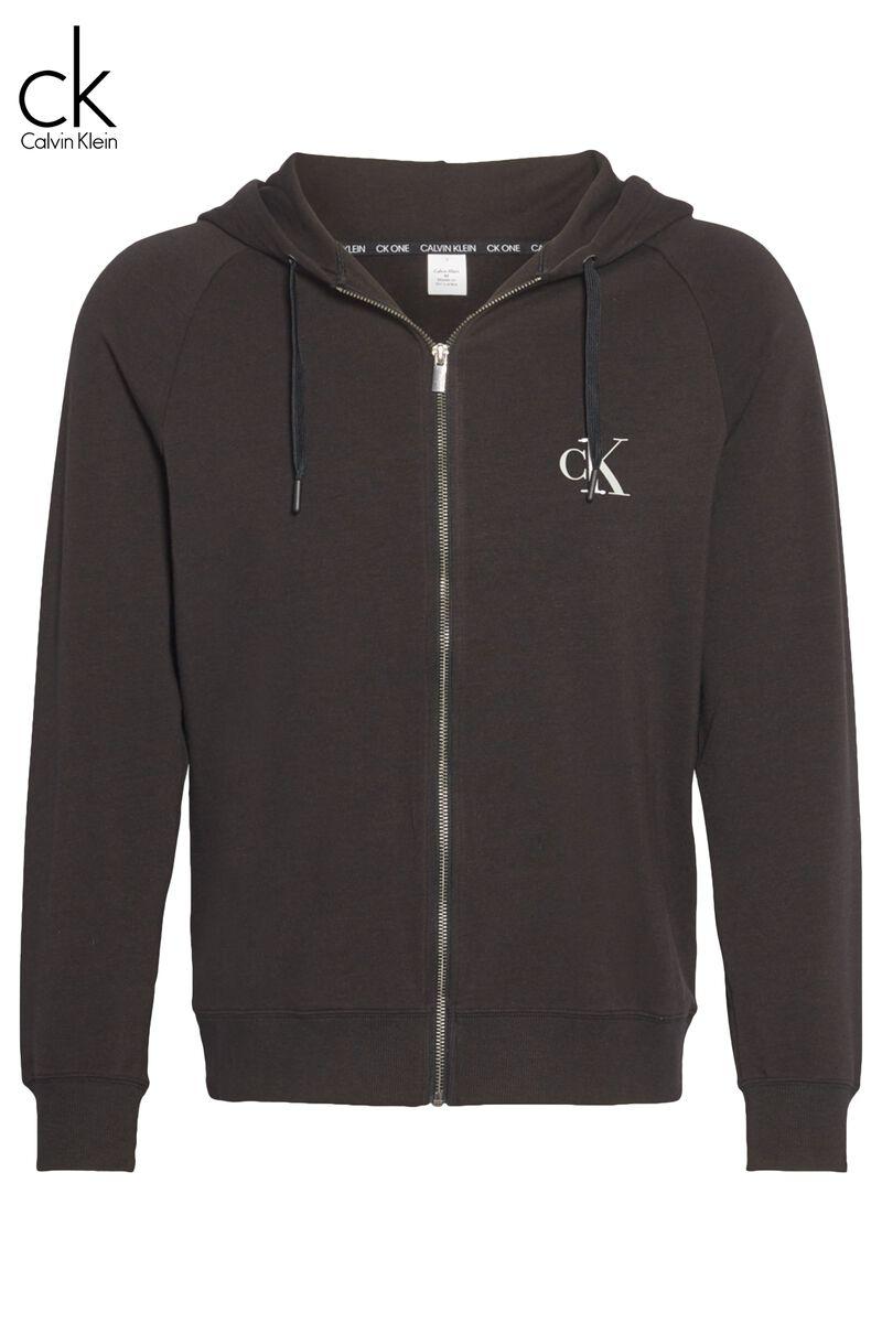 Cardigan en molleton Zip hoodie