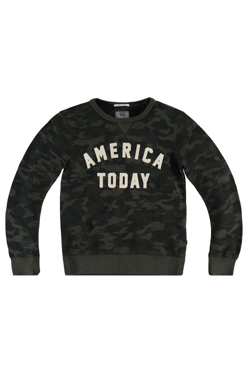 9d88412a3 Boys Sweater Story Camo Green Buy Online