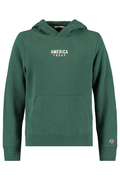 Hoodie America Today text imprint