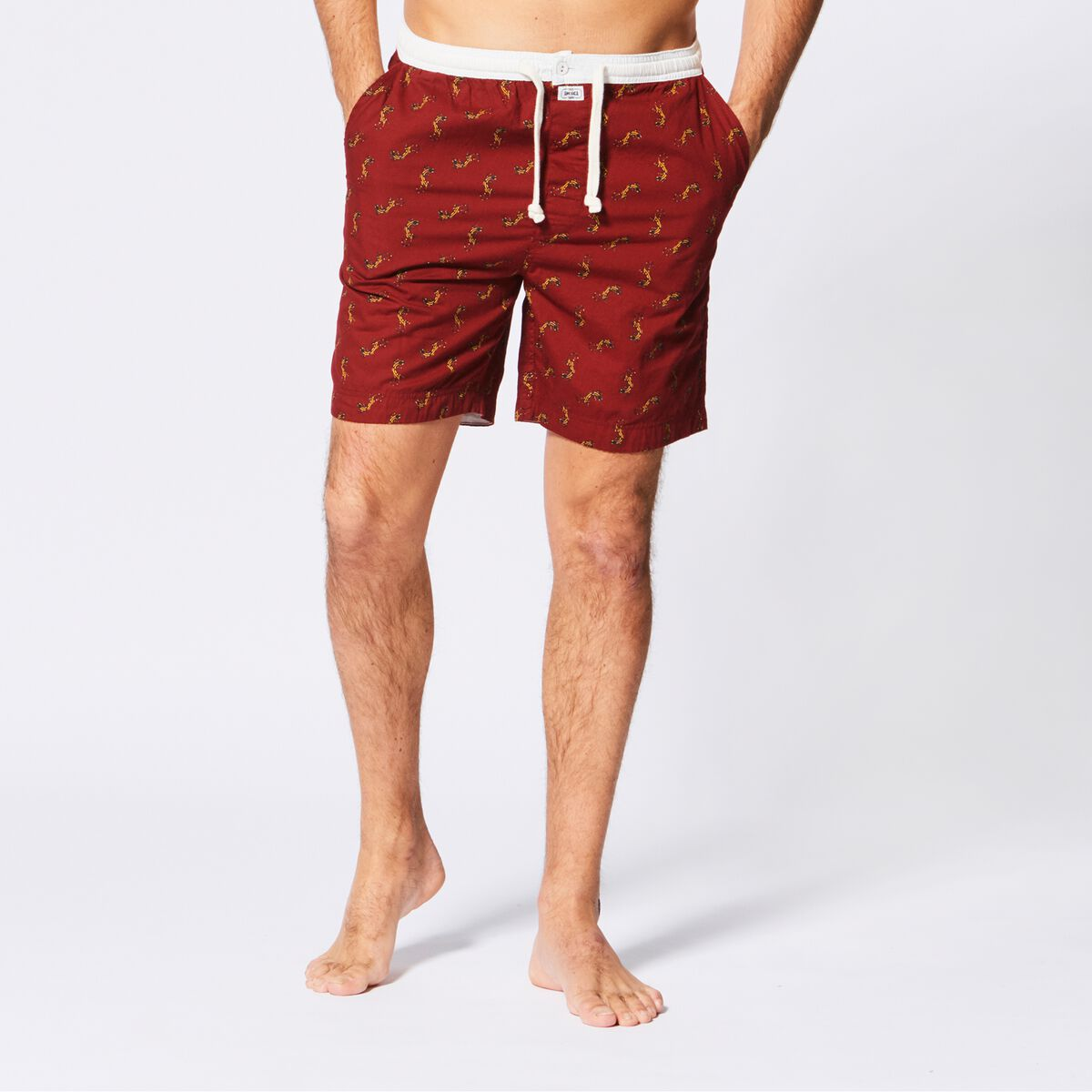 Hommes Short de pyjama Lake short Rouge Acheter en Ligne 8e01b6dc8e4