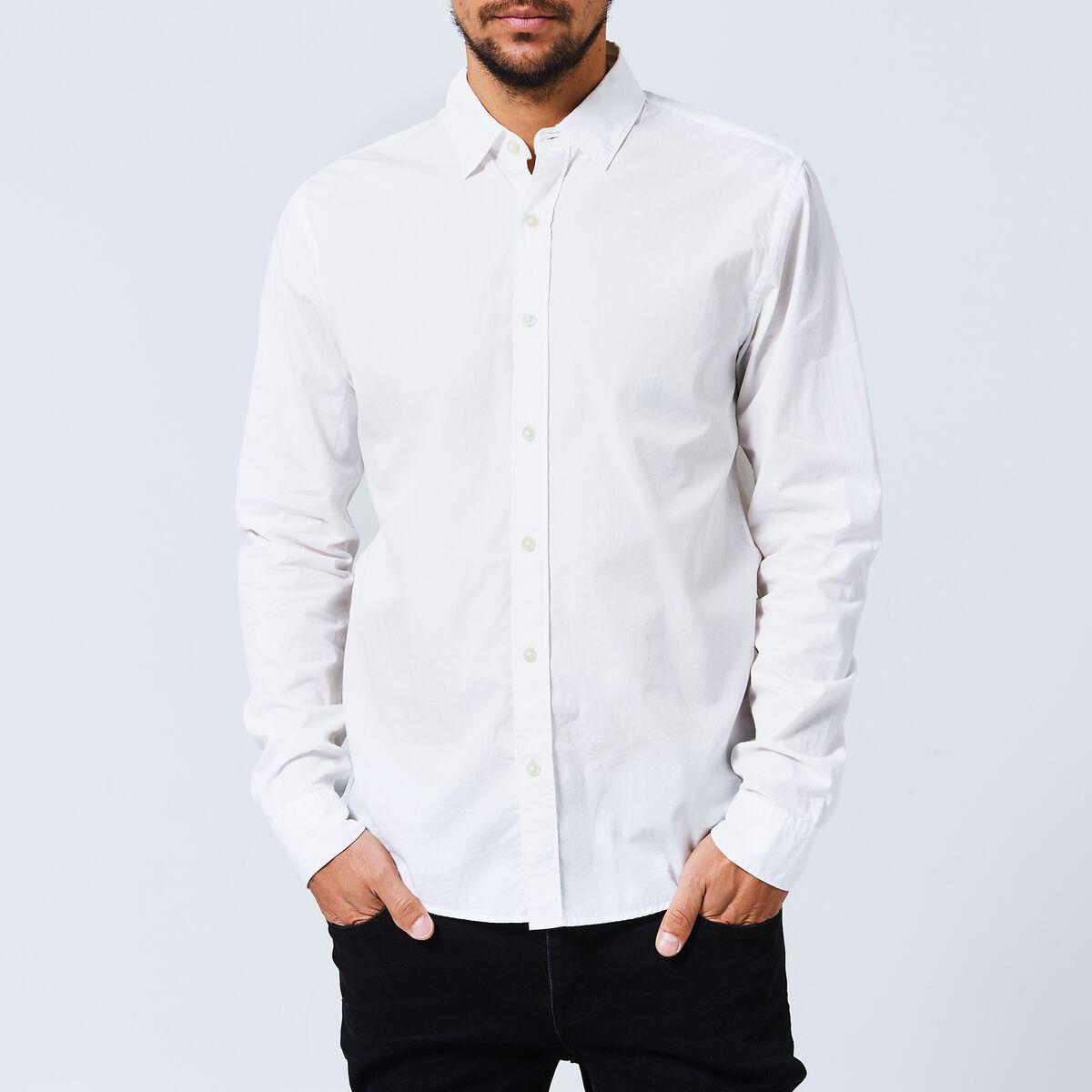 Heren Overhemd Wit.Heren Overhemd Hudson Wit Kopen Online America Today