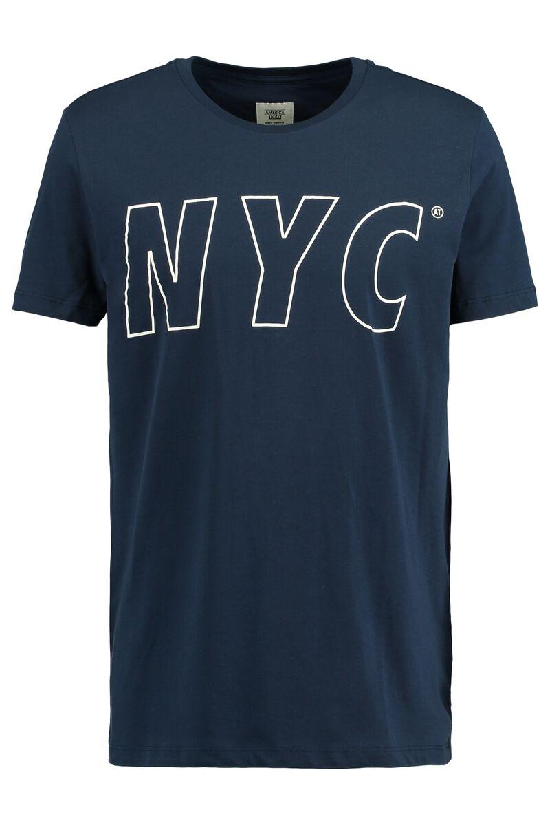 c0317f40 Men Basic T-shirt Ed NYC Blue Buy Online