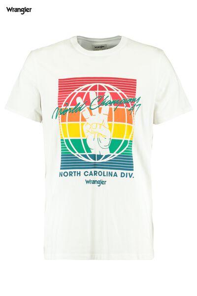 T-shirt Wrangler Globe