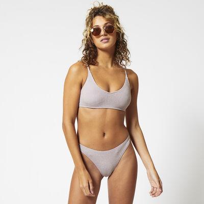 Bikinitop padded glitter