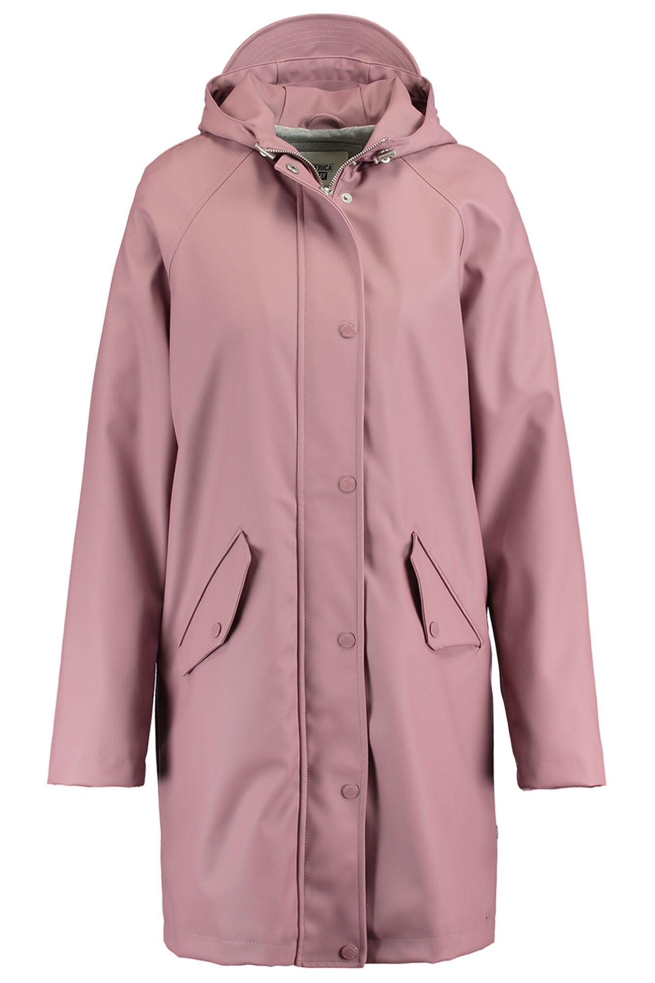 ee0f8d13b Women Rain jacket Janet Long Orange Buy Online