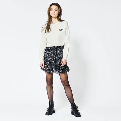 Skirt all-over print