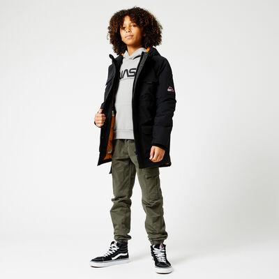 Capuche doublée d'une veste