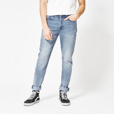 Slim leg jeans mid waist