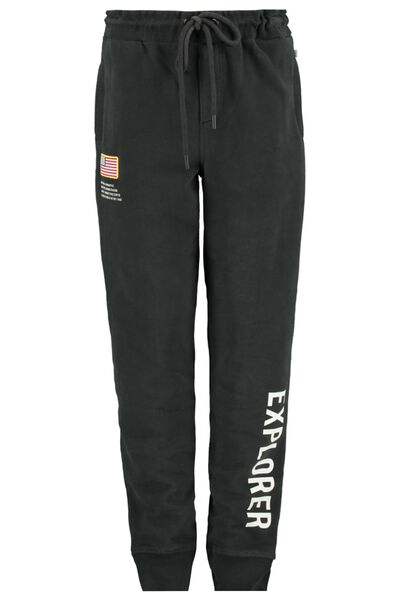 Jogging pants with text print