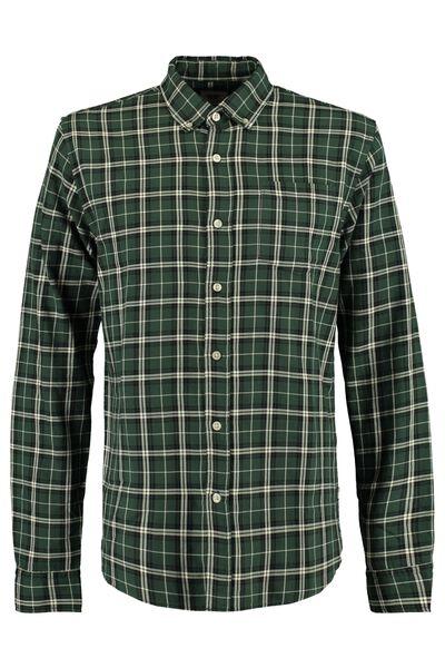 Overhemd met all-over ruitdessin