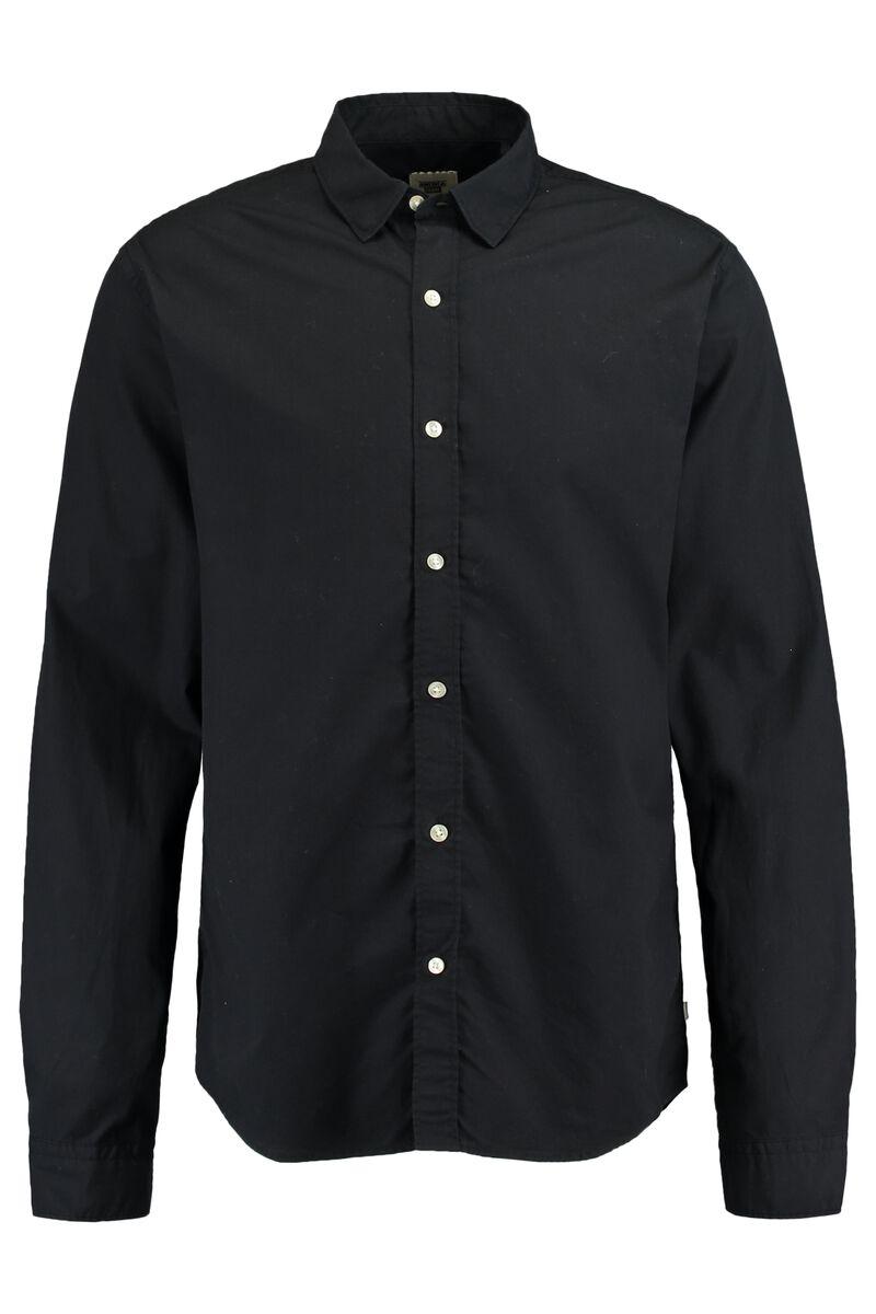 Zwart Overhemd Kopen.Heren Overhemd Hudson Zwart Kopen Online