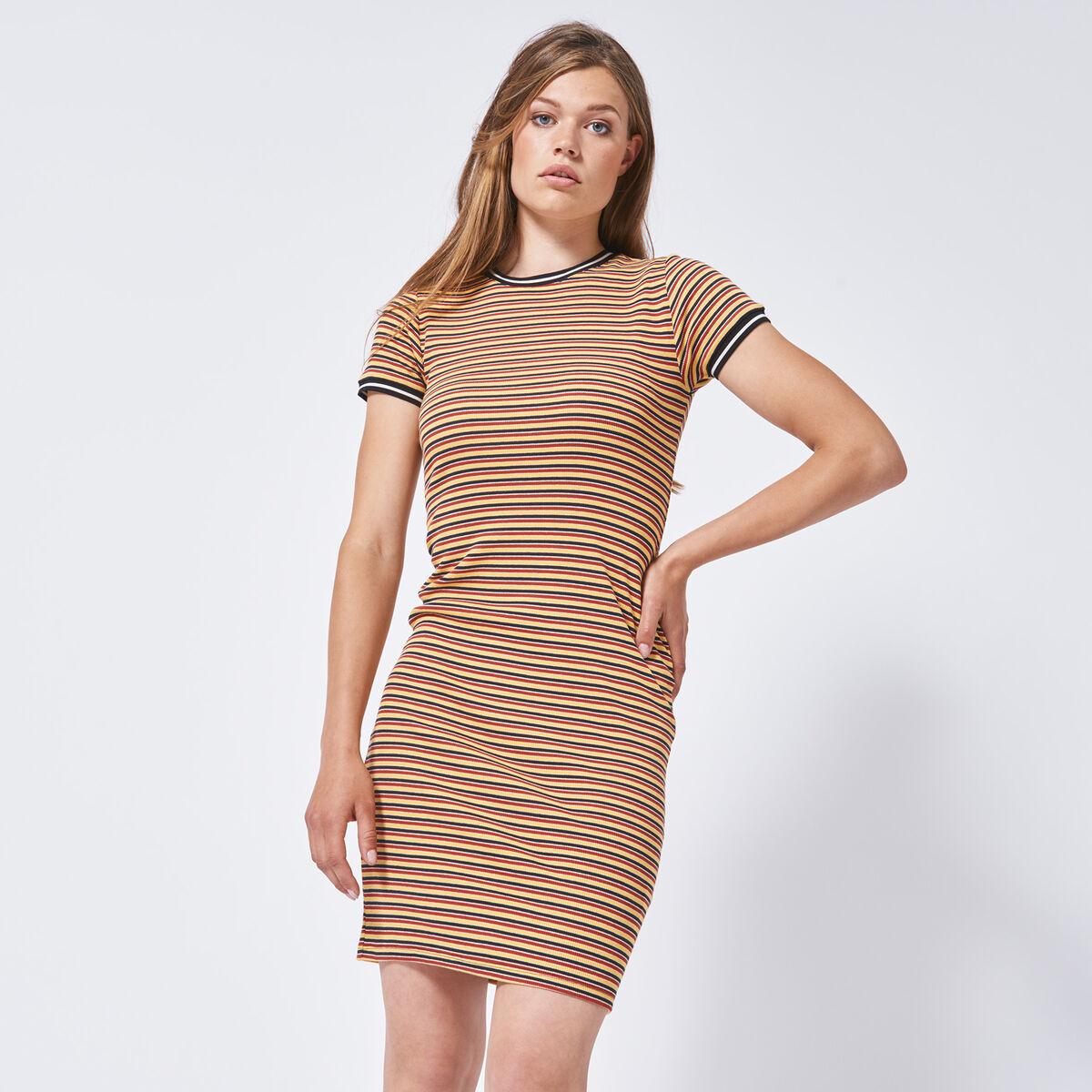 54c86c41a55c Damen Kleid Dibby Gelb Online Kaufen | America Today