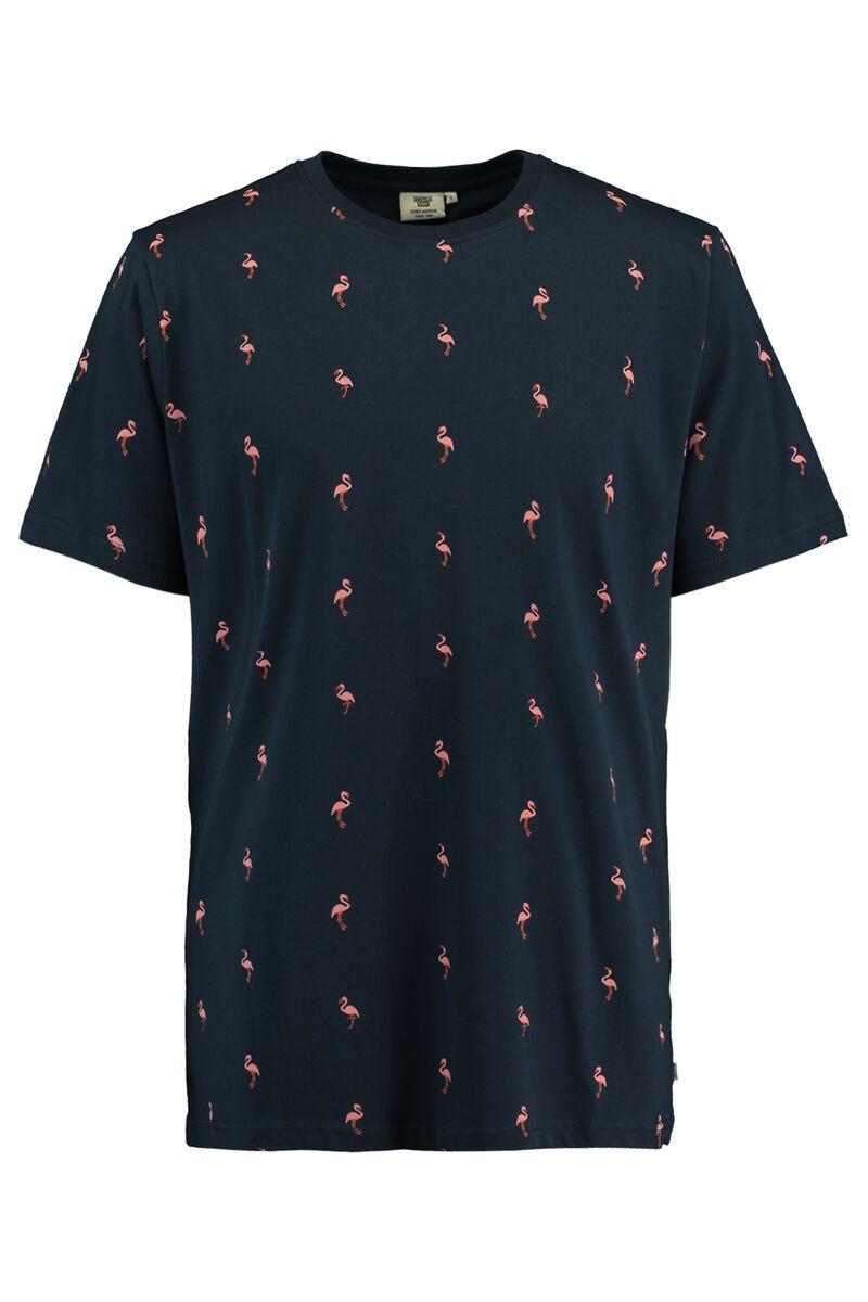 T-shirt Emmanuel flamingo