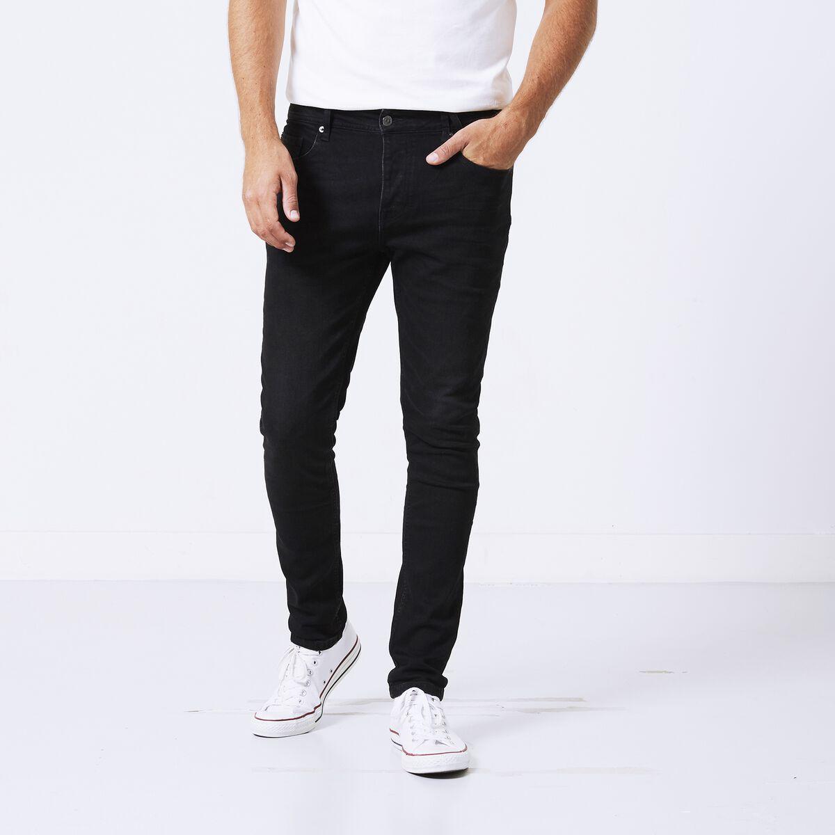 686ad7495e2 Heren Jeans Ryan Zwart Kopen Online | America Today