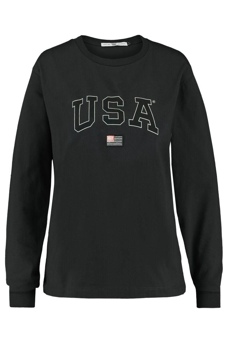 Long sleeve Lyona USA LS tee
