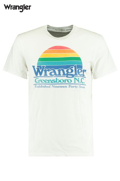 T-shirt Wrangler graphic tee