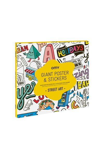 Gift OMY Poster Street Art