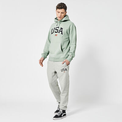 Jogging pants USA embroidery