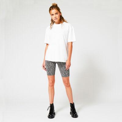 Shorts de motard imprimé