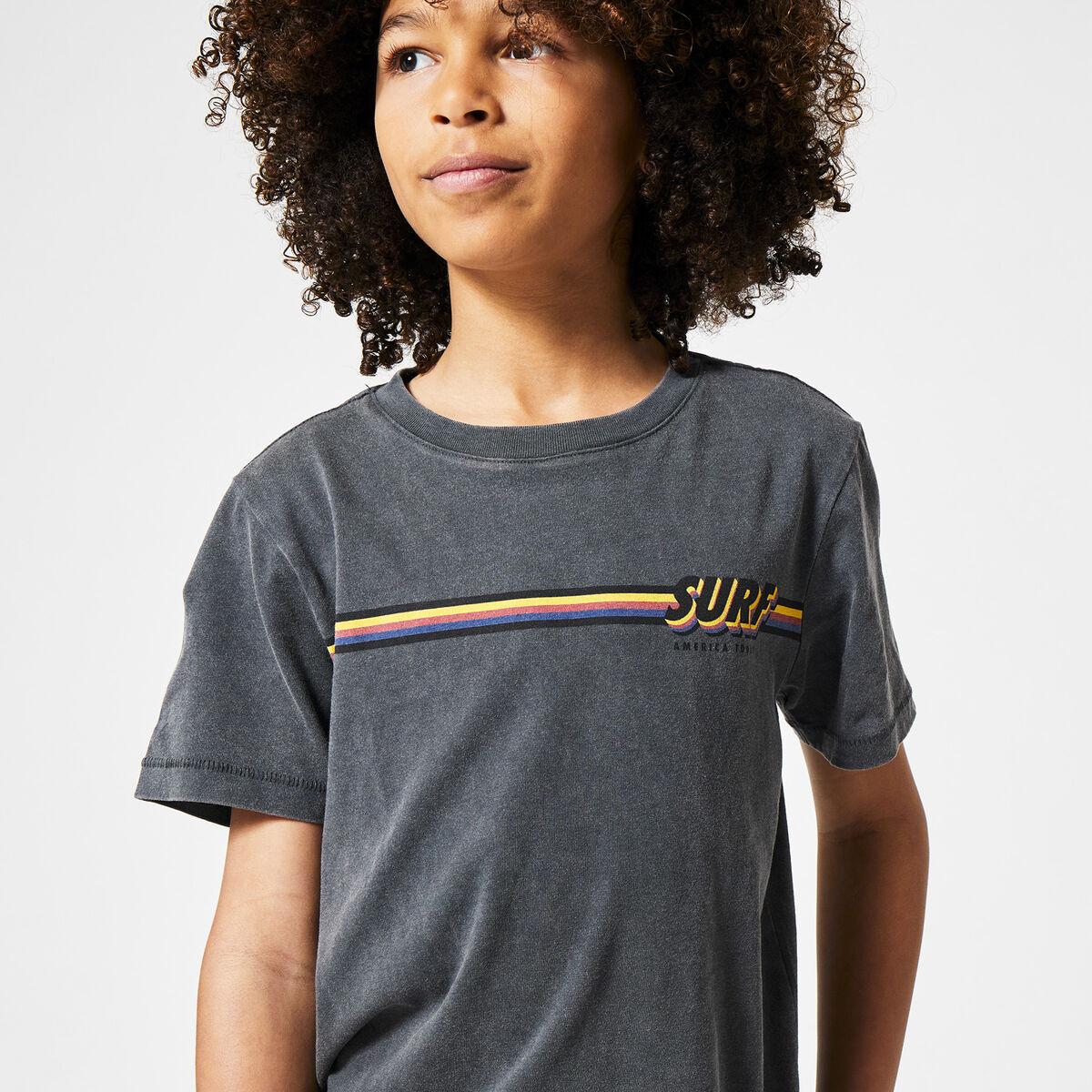 T-shirt Eamon Stripe Surf JR