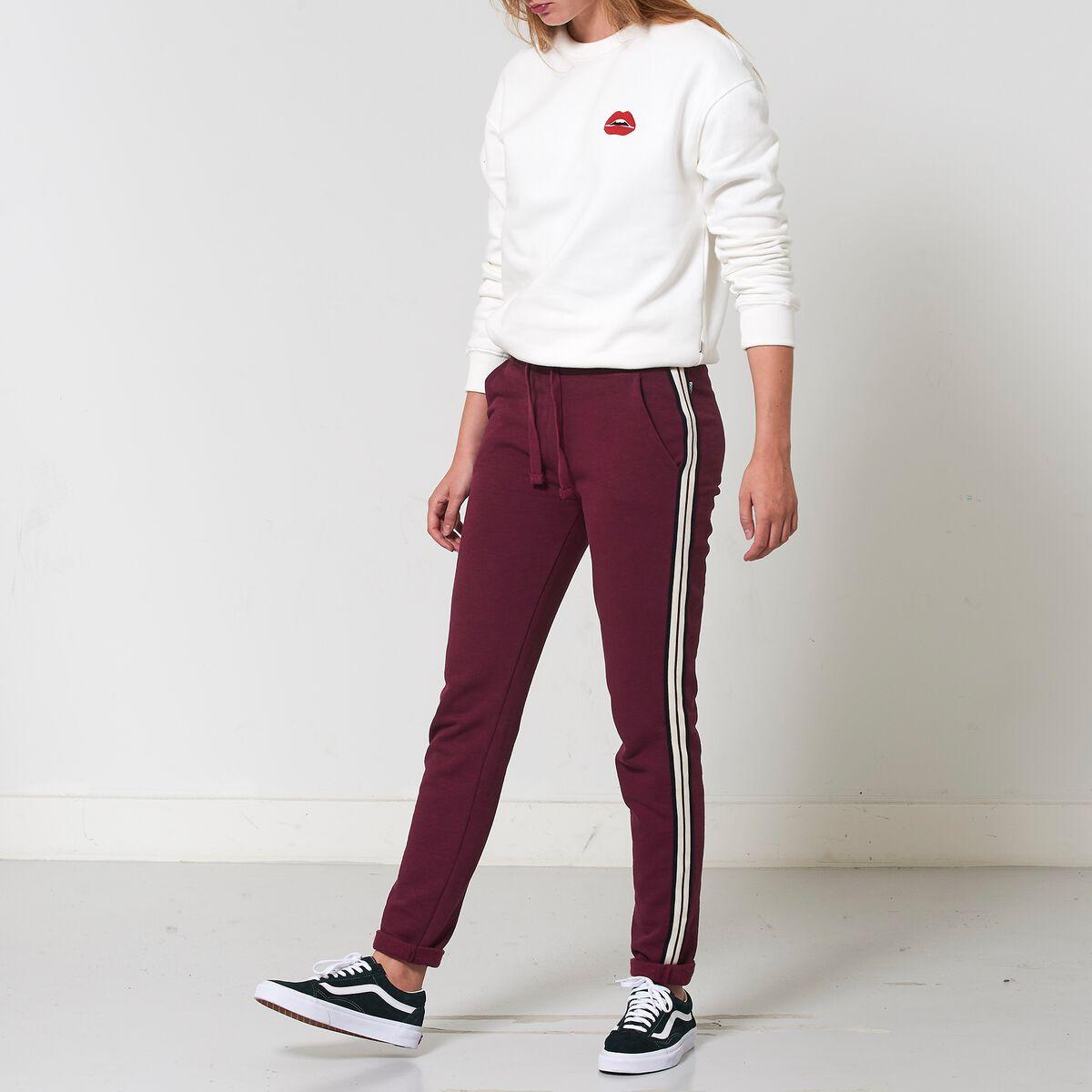 Converse Joggingbroek Dames.Dames Joggingbroek Celine Rood Kopen Online