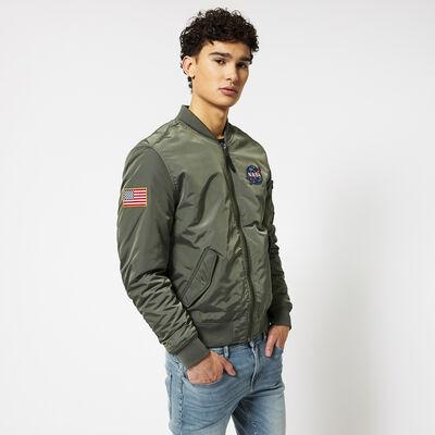 Bomber jacket NASA embroidery