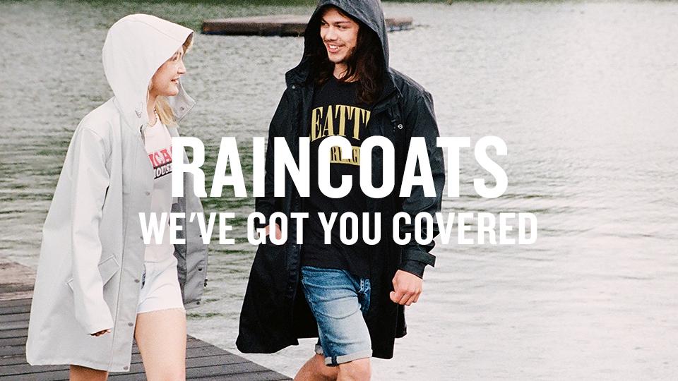 raincoats America Today