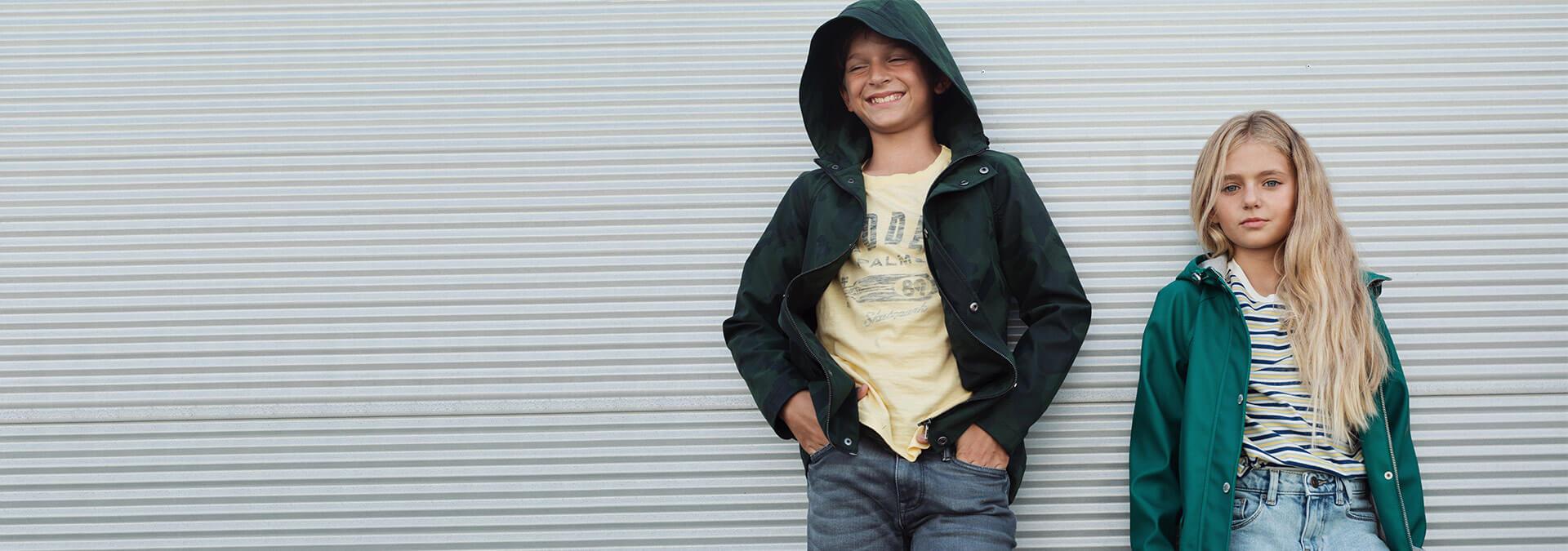 junior raincoats
