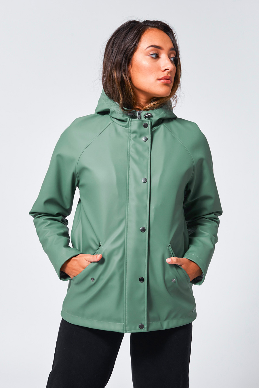 Janet teddy raincoat