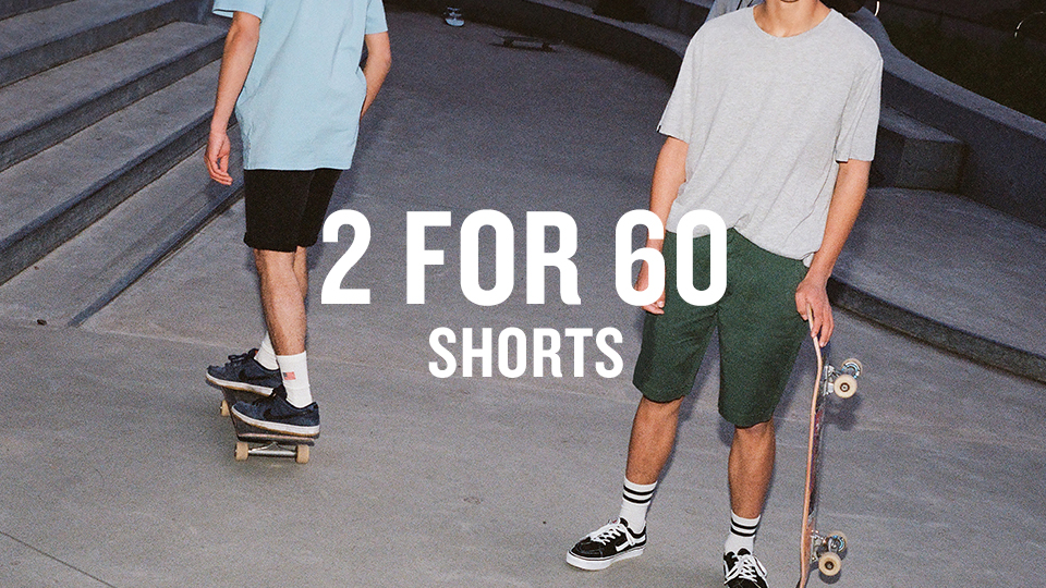 shorts 2 for 60