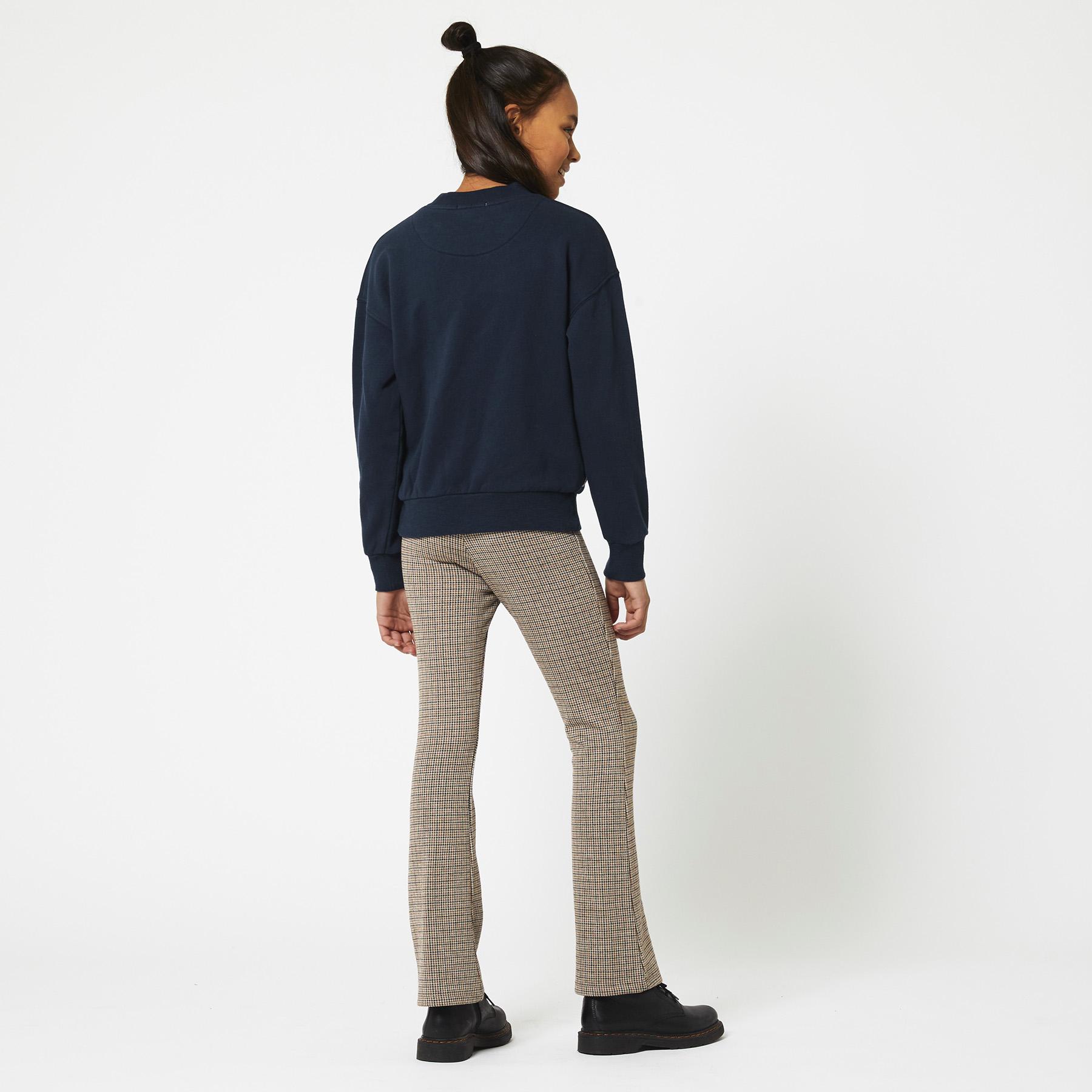 Flared pants Coco check Jr.
