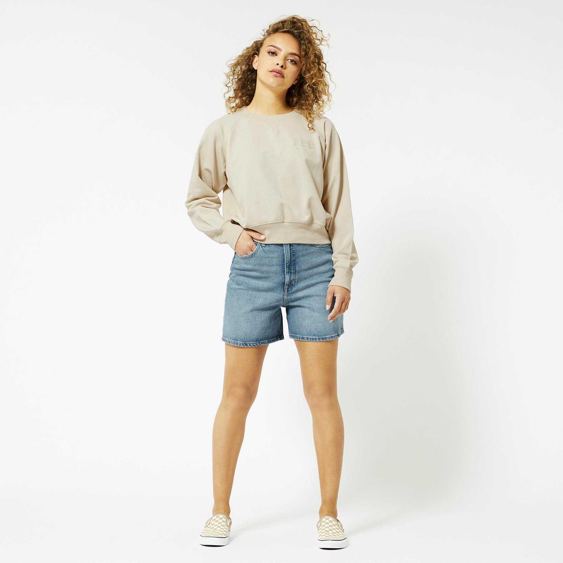 Sweater Vintage Cropped Sweat