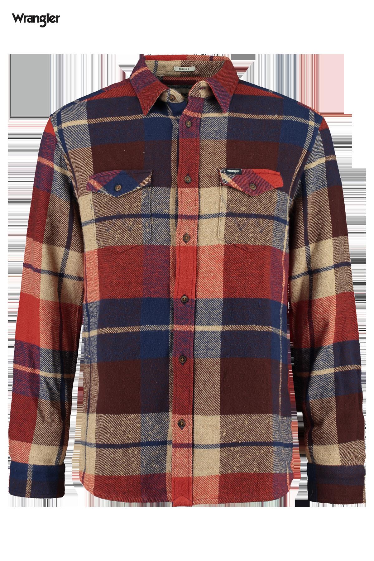 Overhemd Pocket flap shirt